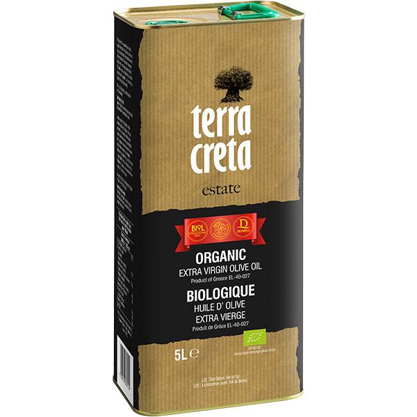 Olivenöl Extra Nativ BIO (5L) Terra Creta