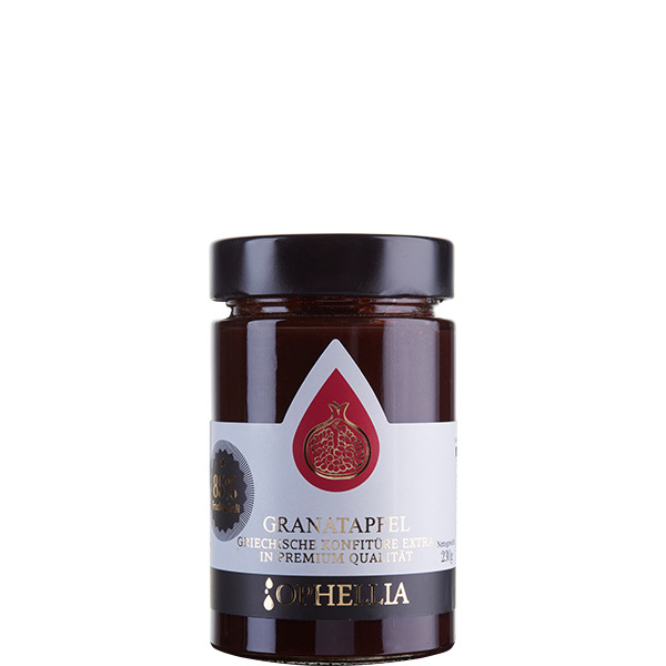Konfitüre Extra Granatapfel 85% (230g) Ophellia