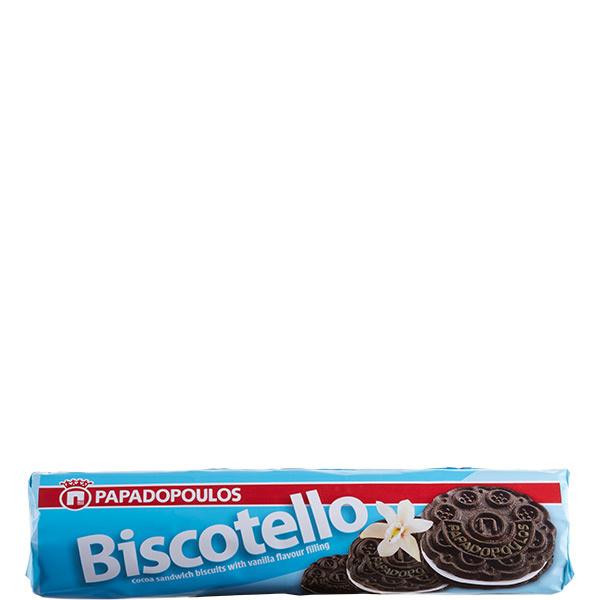 Biscotello Doppelkeks Vanille (200g) Papadopoulos