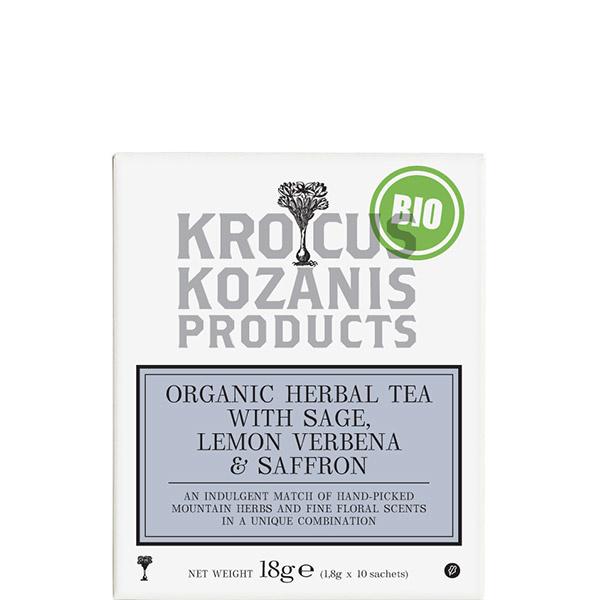 Tee mit Salbei, Louiza & Safran BIO (18g) Kozani